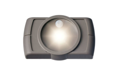 как работает светильник с датчиком движения