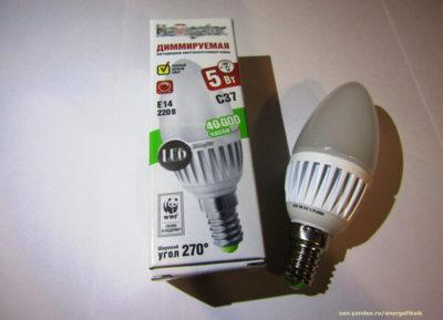 диммируемые светодиодные лампы что это такое