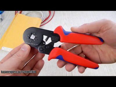 как обжать провода без обжимных клещей
