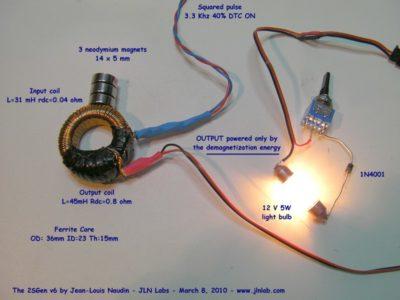 как сделать генератор энергии