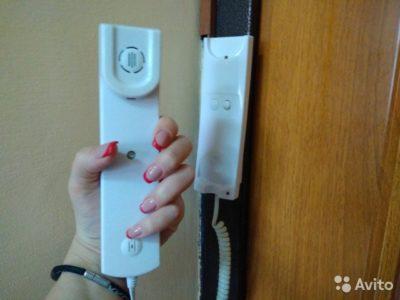 как подключить домофонную трубку