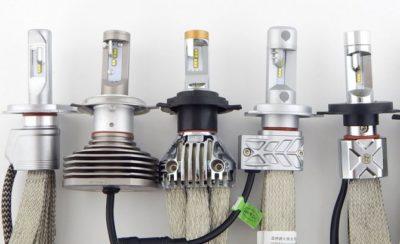 как поставить светодиодные лампы в фары