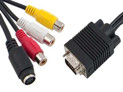 как подключить компьютер к телевизору через кабель