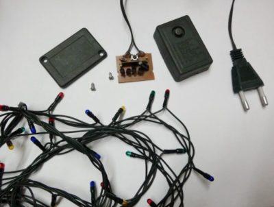 как починить гирлянду светодиодную