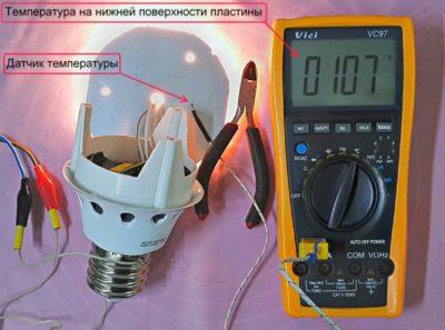 диод как датчик температуры