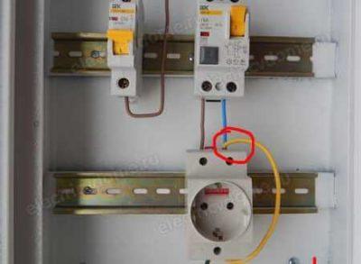 как подключить автомат к проводке