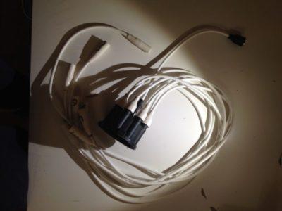 как соединить высоковольтные провода