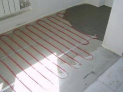 как уложить инфракрасный теплый пол под ламинат