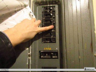как перенести выключатель в другое место