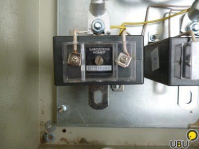 как подключить трансформаторы тока к трехфазному счетчику