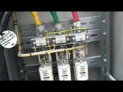 как подключить счетчик через трансформаторы тока