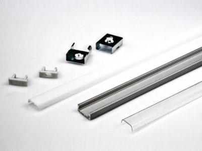 как крепить профиль для светодиодной ленты