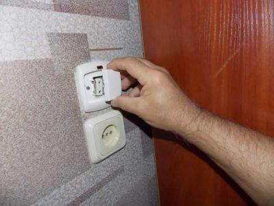 как сделать выключатель на светильник