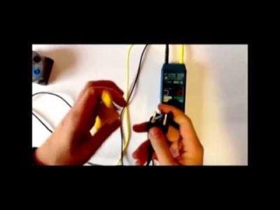 как измерить сопротивление мегаомметром