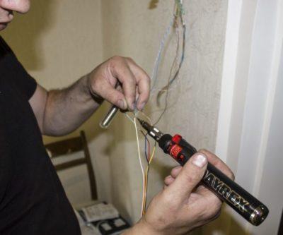 как найти обрыв провода в удлинителе