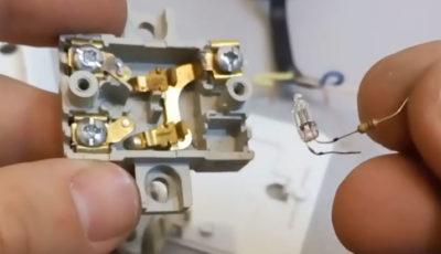 как должен включаться выключатель вверх или вниз