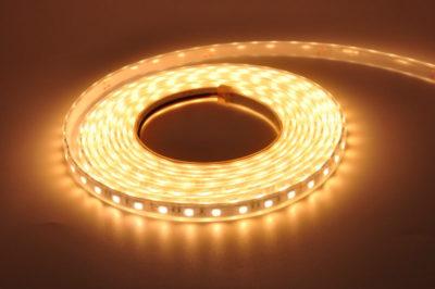 как сделать светильник из светодиодной ленты