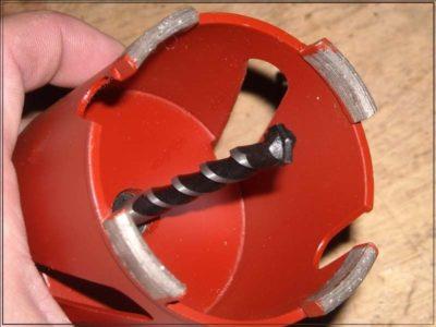 какой диаметр коронки нужен для подрозетников