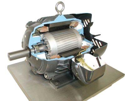 как работает электрический двигатель