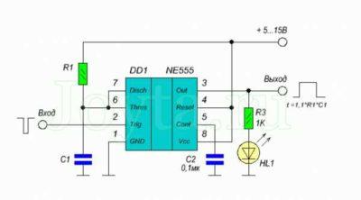 lm358n схема включения как работает
