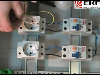 как подключать электро автоматы