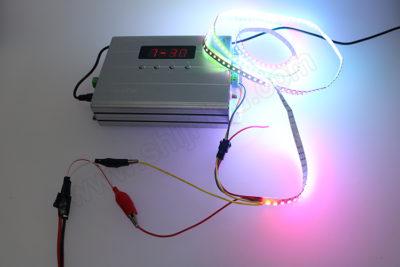 как запитать светодиодную ленту от батареек