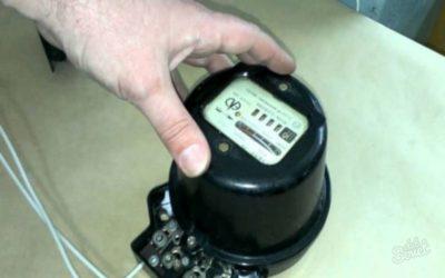 как подключить старый электросчетчик