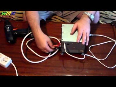 как подключить шуруповерт без аккумулятора