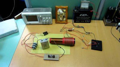 как сделать трансформатор тесла