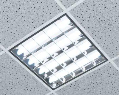 что такое растровый светильник