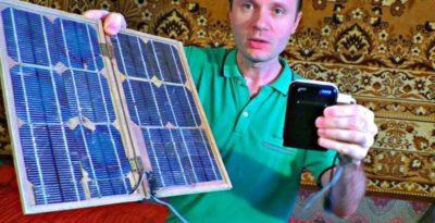 как сделать солнечную батарею своими руками