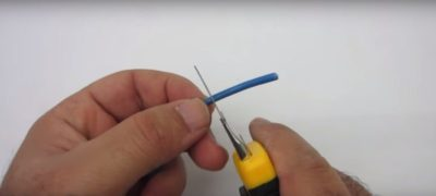 как паять алюминиевые провода